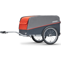 Croozer Cargo campfire red 2018