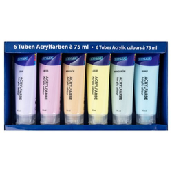 Acrylfarben-Set pastell