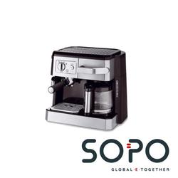 Delonghi BCO421.1 Kombi-Kaffeemaschine (Filter-Siebträger)