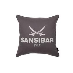 Kissenhülle SANSIBAR grau(BH 45x45 cm) Sansibar