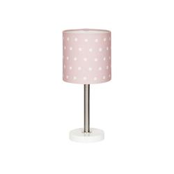 Happy Style Nachttischlampe DOTS, Kinderzimmer rosa