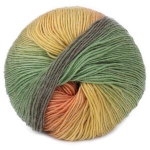 1 Knäuel, 50 g, handgewebt, Regenbogenfarben, bunt, Kaschmir-Woll-Mischgarn, Strickgarn, Strickwolle, grobe Wolle zum Stricken
