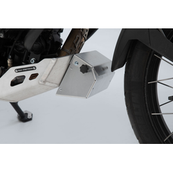 SW-Motech Tool box for engine guard - 197x87x132 mm. Aluminum. Silver., silver, Größe One Size