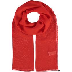 Fraas Modeschal Seidenstola aus reiner Seide rot