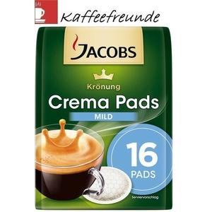 16 Kaffeepads Jacobs Mild für Senseo