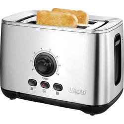 Unold 38955 Toaster Turbofunktion Edelstahl