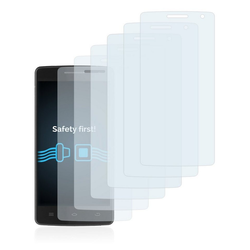 Savvies Schutzfolie für Icefox i8, (6 Stück), Folie Schutzfolie klar