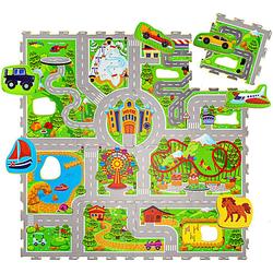 Puzzlematte Babys – Urlaub Puzzlematten mehrfarbig  Kinder