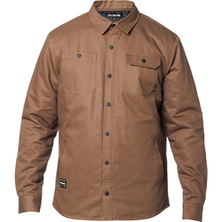 Hemd FOX - Montgomery Lined Work Shirt Dirt (117) Größe: M