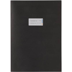 Heftschoner Papier A4 schwarz