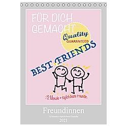 Freundinnen (Tischkalender 2021 DIN A5 hoch)