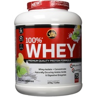 ALL STARS 100% Whey Protein Lemon Lime Cheesecake Pulver 2270 g