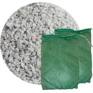 Schicker Mineral Zeolith Filterset (10 kg Zeolith und 2 Filtersäcke) Gartenteich, ideal geeignet als Wasseraufbereiter für Gartenteich und Aquarium (2,5-5,0 mm)