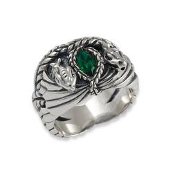 Der Herr der Ringe Fingerring Barahir - Aragorns Ring, 10004057, Made in Germany 52