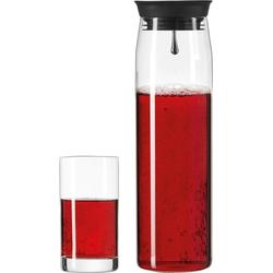 LEONARDO Gläser-Set Brioso (3-tlg), 1 Karaffe, 2 Longdrinkgläser