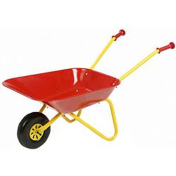 Kinderschubkarre Metall rot gelb/rot