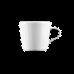 Mandarin Moccatasse konisch 0,09 l weiß