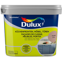 Dulux Holzlack Fresh Up, für Küchen, Möbel und Türen, taupe, 0,75 l