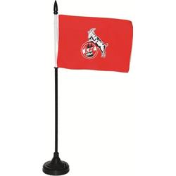 1. FC Köln Fahne Wappen, Wimpel mit Sound