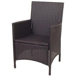 keine Angabe Korbsessel Hularo anthrazit Stuhl Sessel Gartenmöbel Rattanstuhl Gartensessel