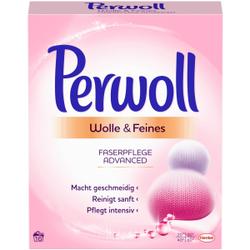 Perwoll Wolle & Feines Faserpflege Advanced Waschpulver, Behutsame und sanfte Pflege von Wolle und Seide, 880 g - Nachfüllpackung für ca. 16 Waschladungen