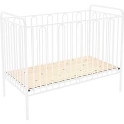 Kinderbett Vintage 110 aus Metall, weiss