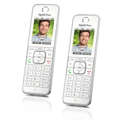 AVM FRITZ Fon C6 Duo Schnurloses DECT Telefon
