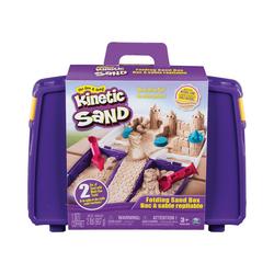 Spin Master Spielsand Kinetic Sand™ Transportabler Sandkasten, 907g +