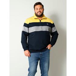 Sweatshirt Men Plus Grau