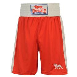 Bokserki męskie bokserskie Lonsdale London krótkie czerwone - S