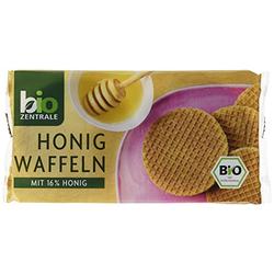 BioZentrale Bio Honig-Waffeln, 3er Pack (3 x 175 g) - Bio