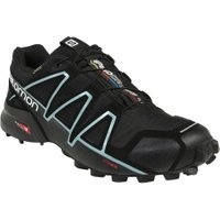 Salomon Speedcross 4 GTX W black/black/metallic bubble blue 38,5