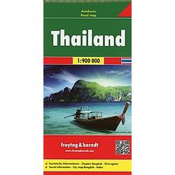 Freytag & Berndt Autokarte Thailand; Thailandia; Thailande - Buch