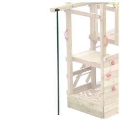 FATMOOSE Spielturm-Erweiterung Feuerwehrstange - Zubehör für Spielturm, Spielhaus, Klettergerüst oder Stelzenhaus