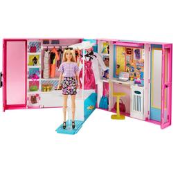 Barbie Puppenkleiderschrank Fashionistas Traum Kleiderschrank, inkl. Puppe