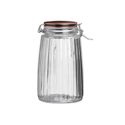 HTI-Living Vorratsglas Vorratsglas mit Deckel Roma, Glas, (1-tlg)