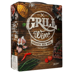 Grill Wine Smooth red 15% 3 ltr