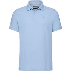 Barbour Poloshirt Polo Crest blau M