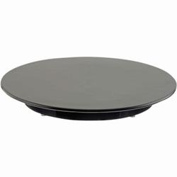 SCHNEIDER Tortenplatte, Melamin, schwarz, Kuchenplatte aus Melamin, Höhe: 30 mm, Ø 300 mm
