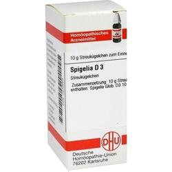 SPIGELIA D 3 Globuli 10 g
