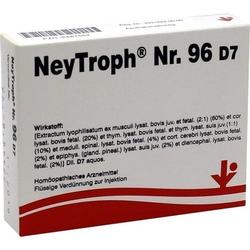 NEYTROPH Nr.96 D 7 Ampullen 10 ml