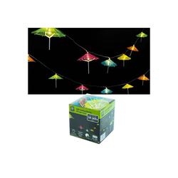 HTI-Living LED-Lichterkette LED Lichterkette bunt Sonnenschirm