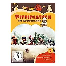 Pittiplatsch im Koboldland - Vol. 5 - 2 Disc DVD - DVD  Filme