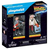 Playmobil Back to the Future Marty McFly und Dr. Emmett Brown 70459