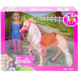 Mattel - Barbie - Pferd und Puppe