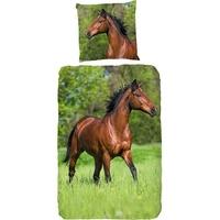 Good Morning Running horse multi 135 x 200 cm + 80 x 80 cm