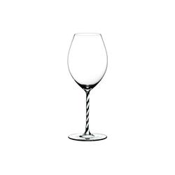 RIEDEL Glas Glas Riedel Fatto A Mano Black & White Alte Welt Syrah, Kristallglas