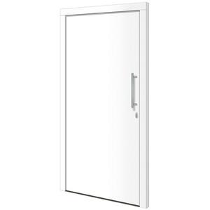RORO Türen & Fenster Haustür Otto 1, BxH: 100x200 cm, weiß, ohne Griff