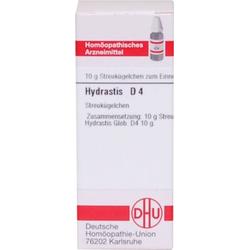 HYDRASTIS D 4 Globuli