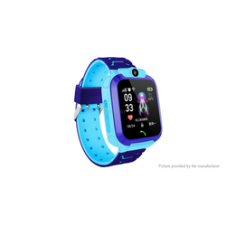 Smartwatch Watch Q12 für Kinder GPS Locator Wasserdicht blau
